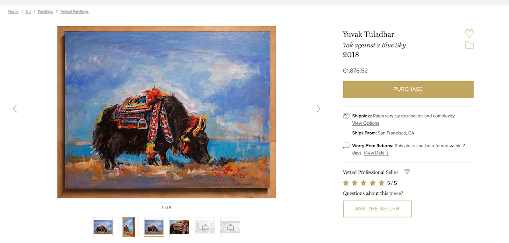 Quelle: https://www.1stdibs.co.uk/art/paintings/animal-paintings/yuvak-tuladhar-yak-against-blue-sky/id-a_3884902/